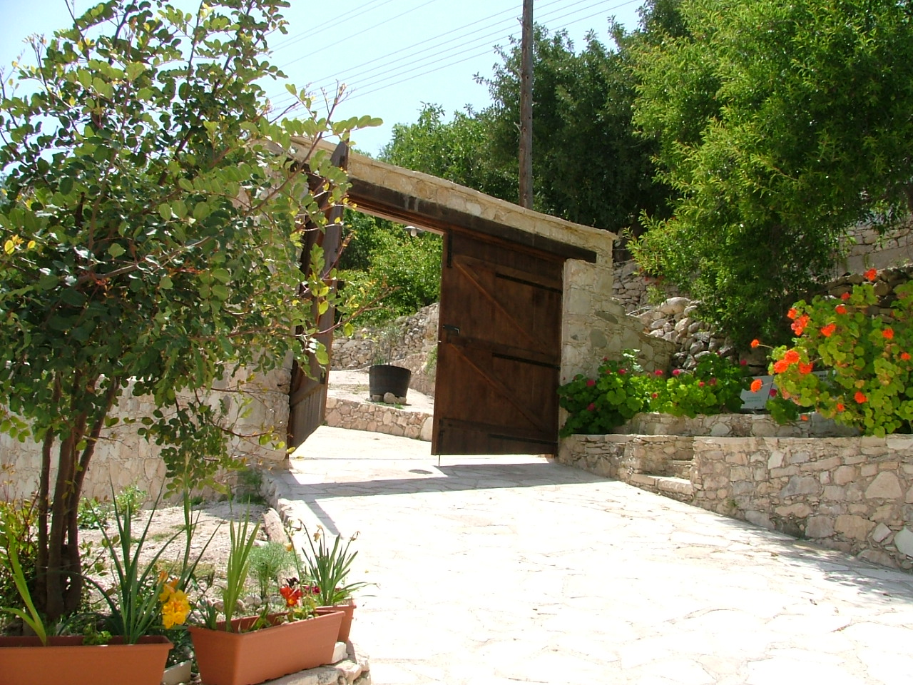 Piskopos Traditional Cyprus House Entrance